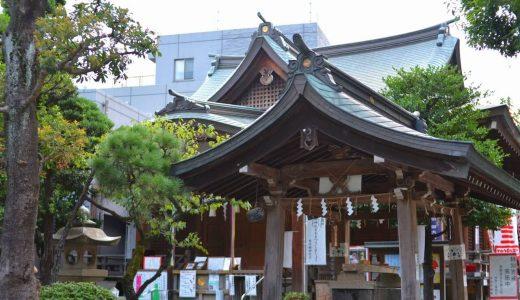 現存都内最古の富士塚 - 鳩森八幡神社(東京渋谷区)
